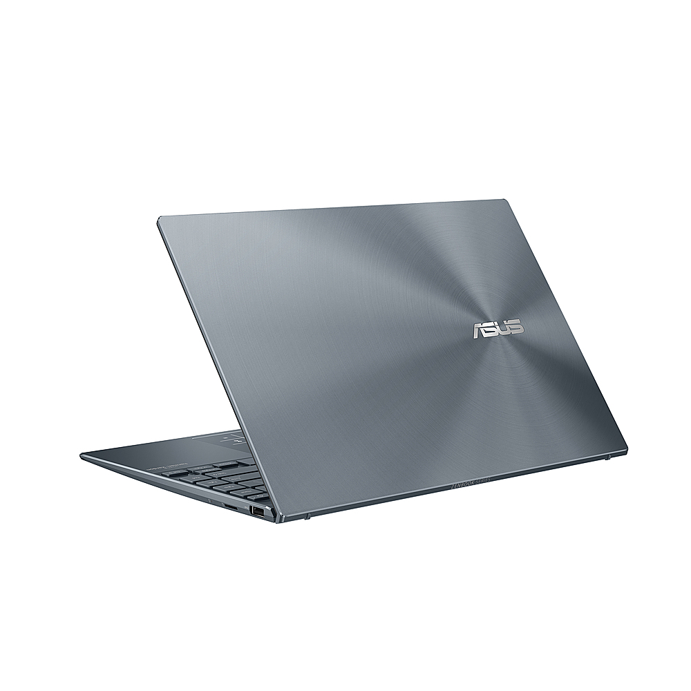 "Alt View Zoom 4. ASUS - ZenBook - 13"" Ultra-Slim FHD Laptop - Intel Core i5-1035G1 - 8GB 256GB in Pine Grey - Pine Grey."