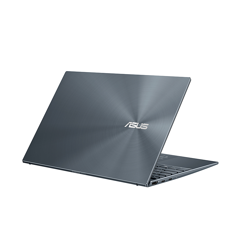 "Alt View Zoom 3. ASUS - ZenBook - 13"" Ultra-Slim FHD Laptop - Intel Core i5-1035G1 - 8GB 256GB in Pine Grey - Pine Grey."