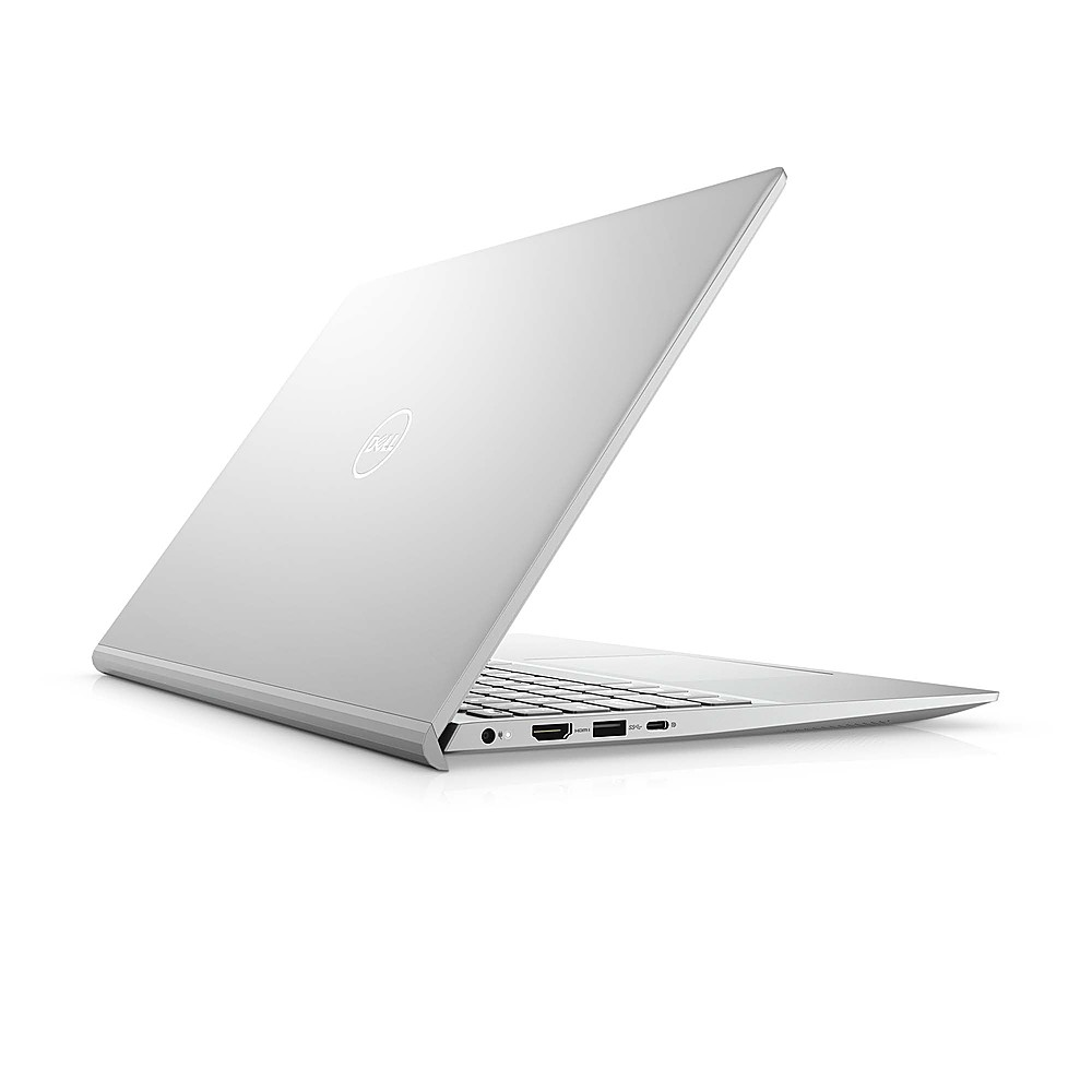 """Alt View Zoom 1. Dell - Inspiron 15.6"""" FHD Laptop - 11th Gen Intel Core i7 - 8GB Memory - 512GB Solid State Drive - Silver."""
