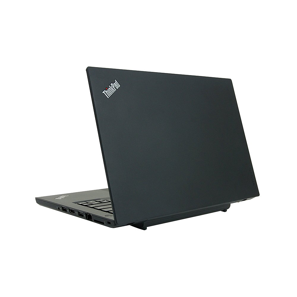 "Left Zoom. Lenovo - ThinkPad T470 14"" Refurbished Laptop - Intel Core i5 6300u - 8GB Memory - 256GB Solid State Drive."