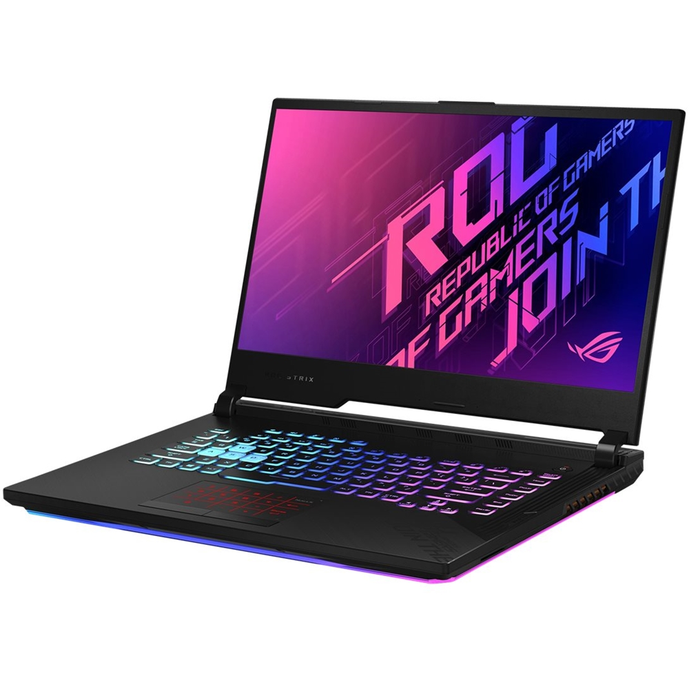 "Alt View Zoom 11. ASUS - ROG Strix G17 17.3"" Laptop - Intel Core i7 - 16GB Memory - NVIDIA GeForce RTX 2070 - 512GB SSD - Original Black."