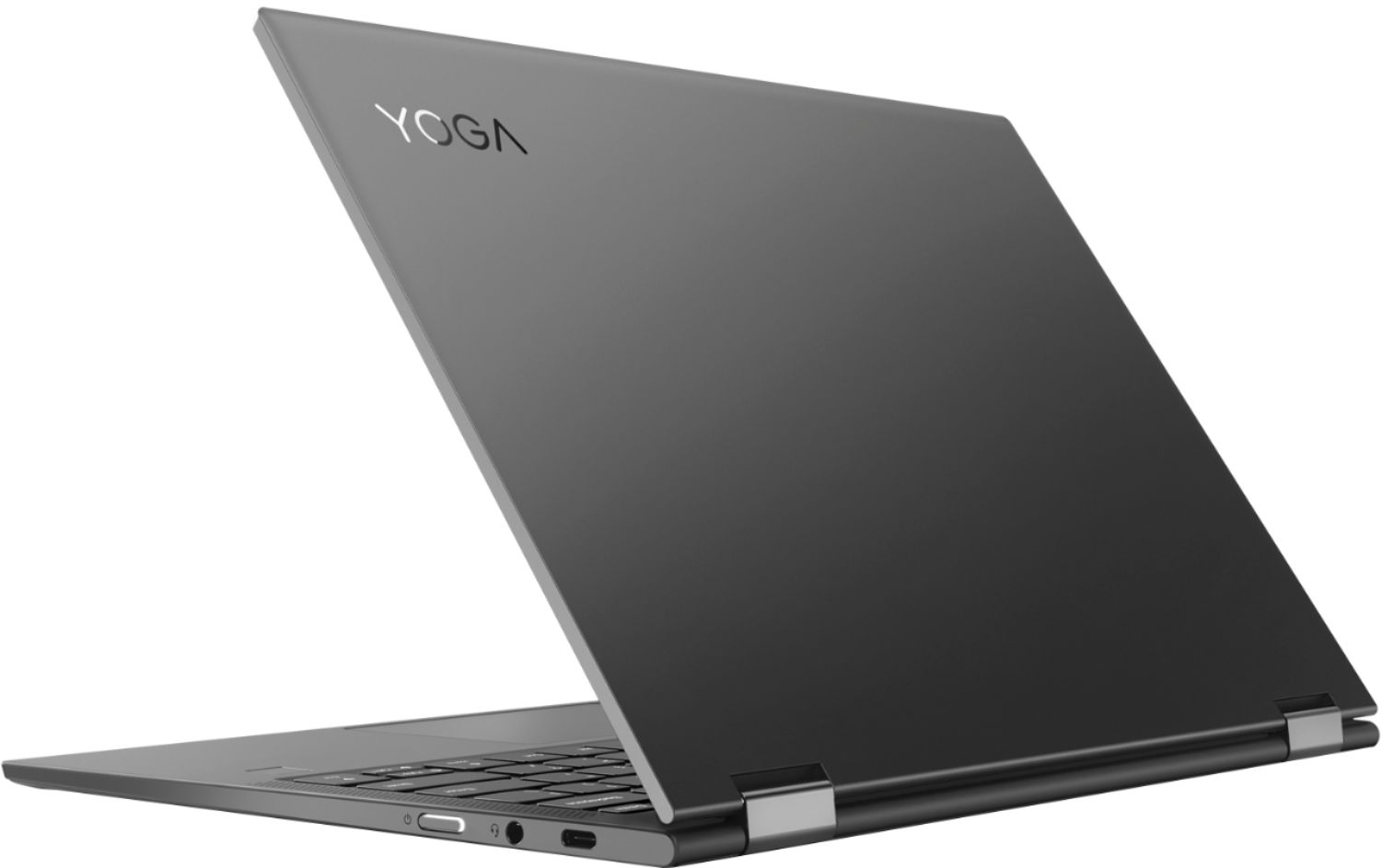 """Alt View Zoom 1. Lenovo - Yoga C630 WOS 2-in-1 13.3"""" Touch-Screen Laptop - Snapdragon 850 - 8GB Memory - 128GB Solid State Drive (Verizon) - Iron Gray."""
