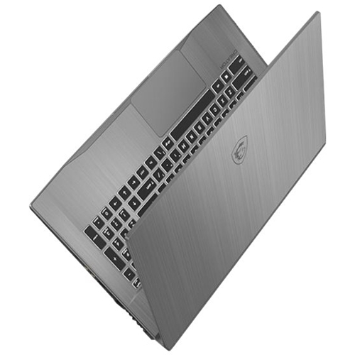"Alt View Standard 12. MSI - Creator 17M 17.3"" Laptop - Intel Core i7 - 16GB Memory - NVIDIA GeForce RTX 2060 - 1TB SSD - Silver Gray."