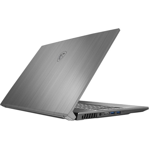 "Alt View Standard 13. MSI - Creator 17M 17.3"" Laptop - Intel Core i7 - 16GB Memory - NVIDIA GeForce RTX 2060 - 1TB SSD - Silver Gray."