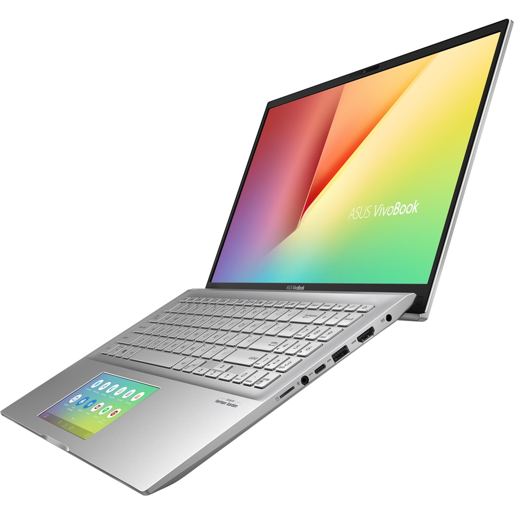 "Alt View Zoom 11. ASUS - VivoBook S15 15.6"" Laptop - Intel Core i5 - 8GB Memory - 512GB SSD - Transparent Silver."