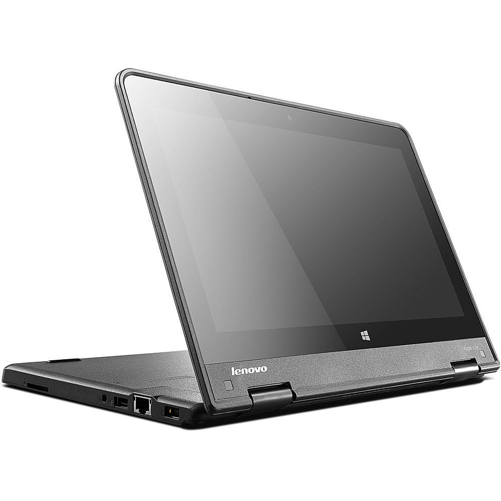 Left Zoom. Lenovo - Thinkpad Yoga 11E G3 Refurbished Laptop - Touchscreen - Intel Core i3 - 8GB Memory - 128GB Solid State Drive.