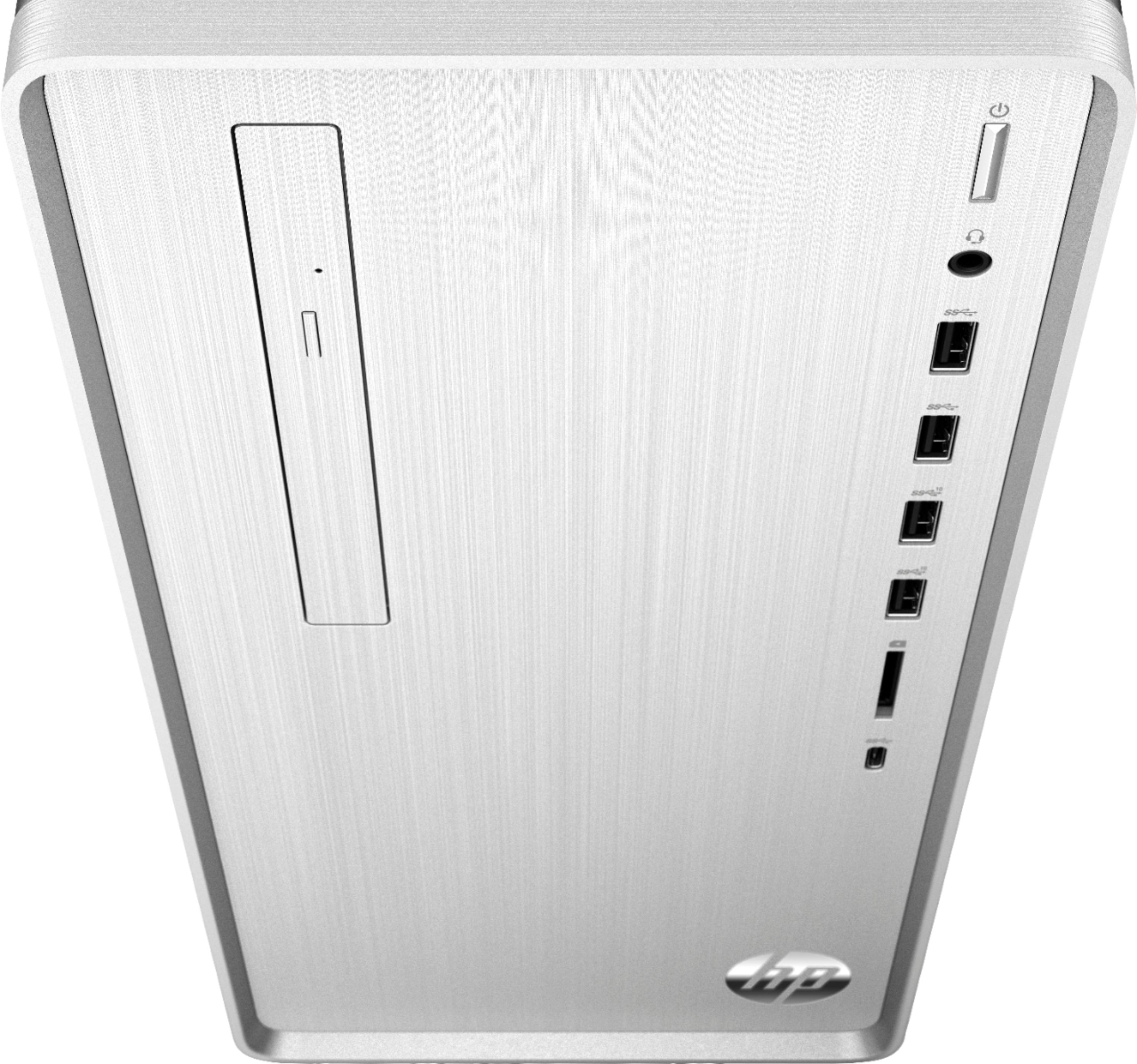 Alt View Zoom 12. Pavilion Desktop - Intel Core i7 - 8GB Memory - 256GB SSD - HP Finish In Natural Silver.