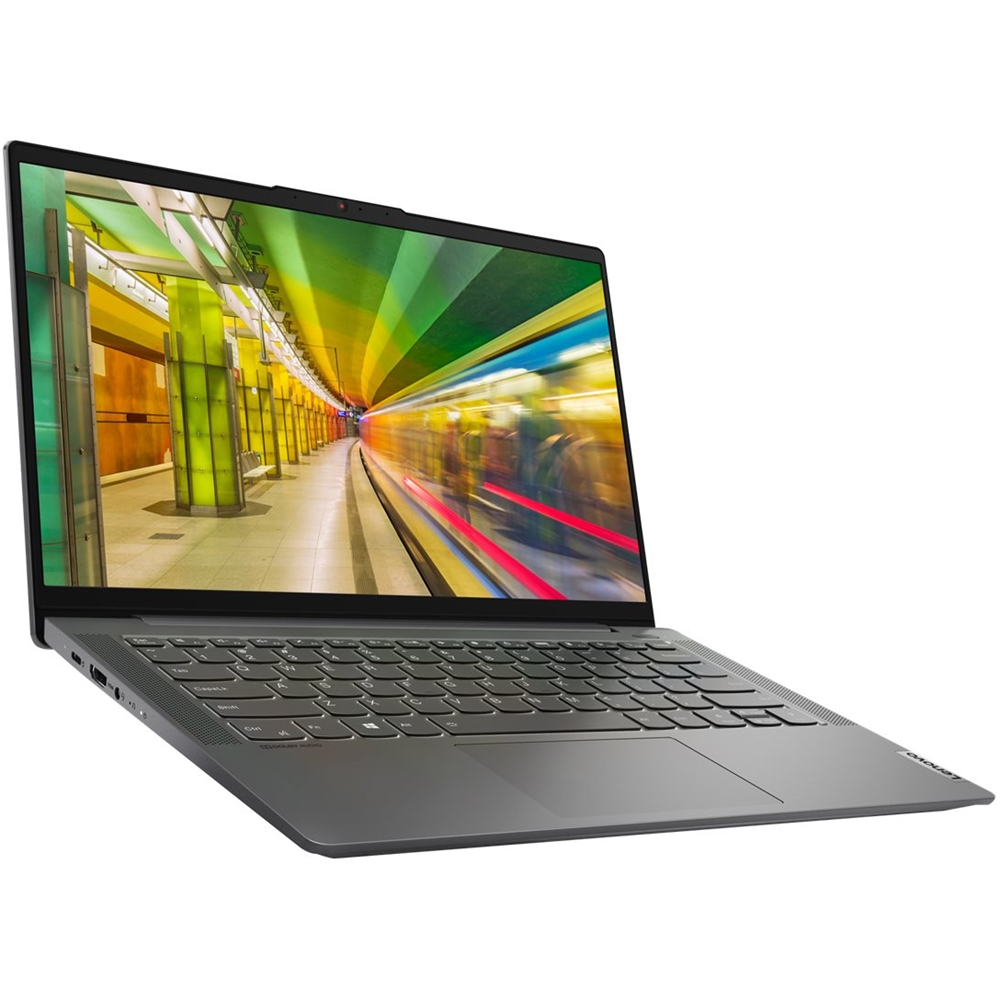 "Left Zoom. Lenovo - IdeaPad 5 14IIL05 14"" Laptop - Intel Core i5 - 8GB Memory - 256GB SSD - Graphite Gray."