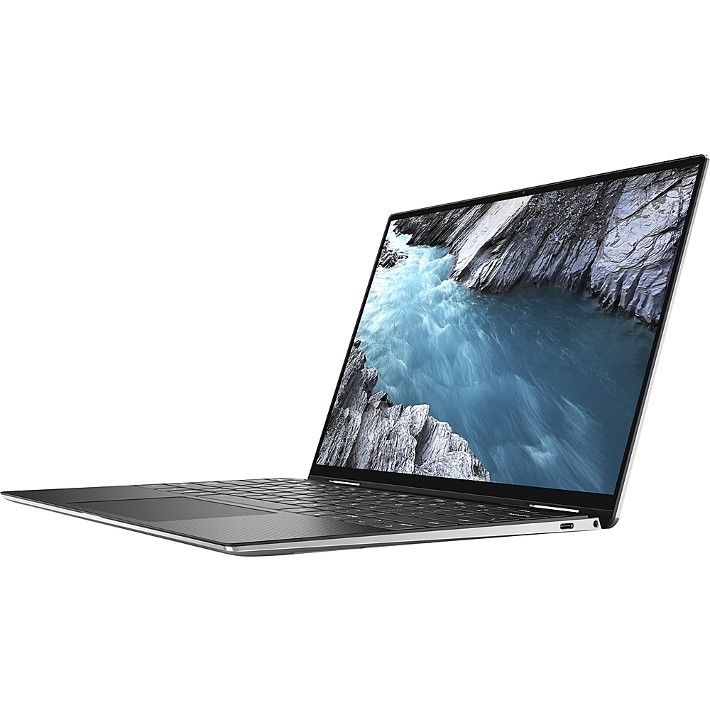 """Alt View Zoom 11. Dell - XPS 2-in-1 13.4"""" Touch-Screen Laptop - Intel Core i7 - 1TB SSD - Platinum Silver With Black Interior."""