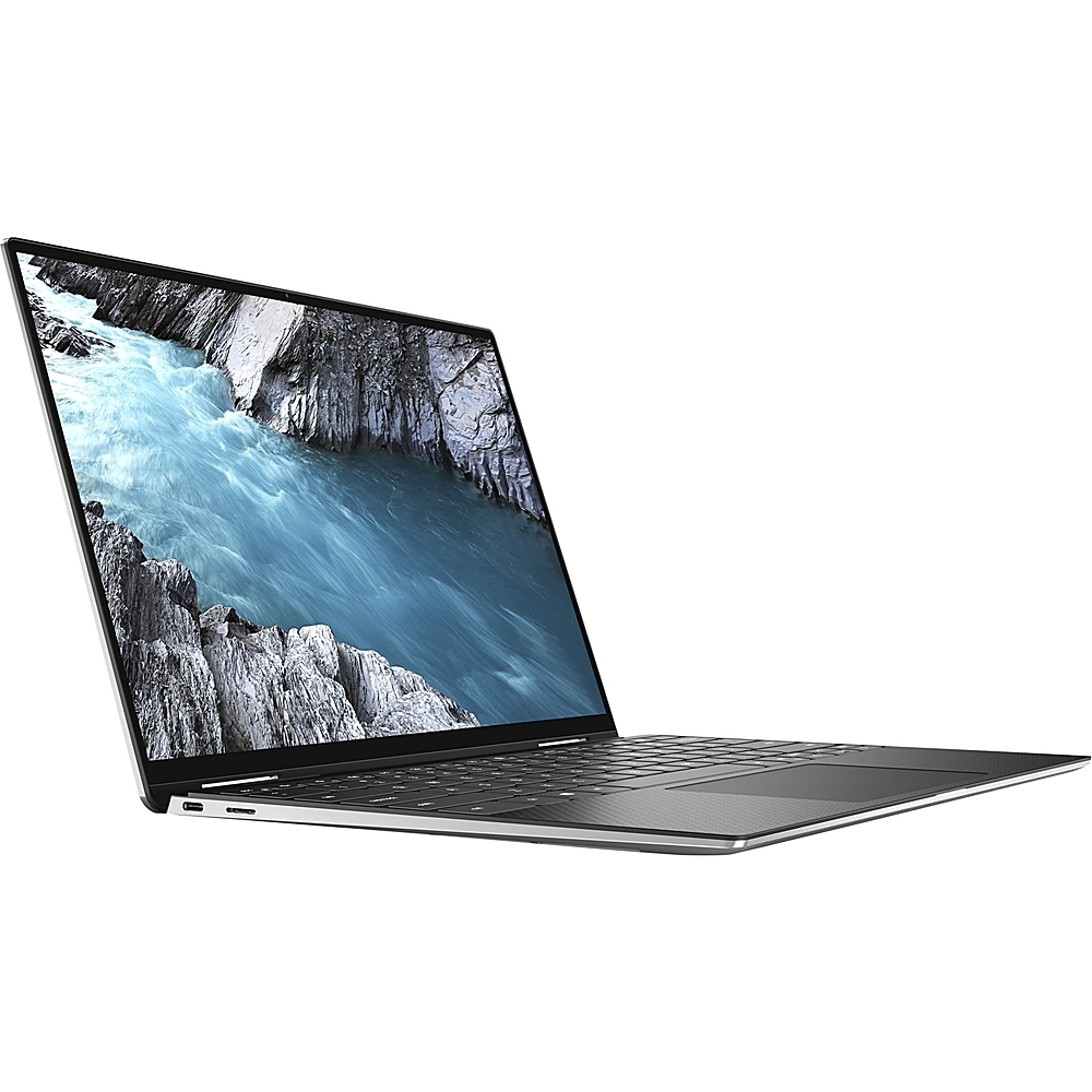 """Left Zoom. Dell - XPS 2-in-1 13.4"""" Touch-Screen Laptop - Intel Core i7 - 1TB SSD - Platinum Silver With Black Interior."""