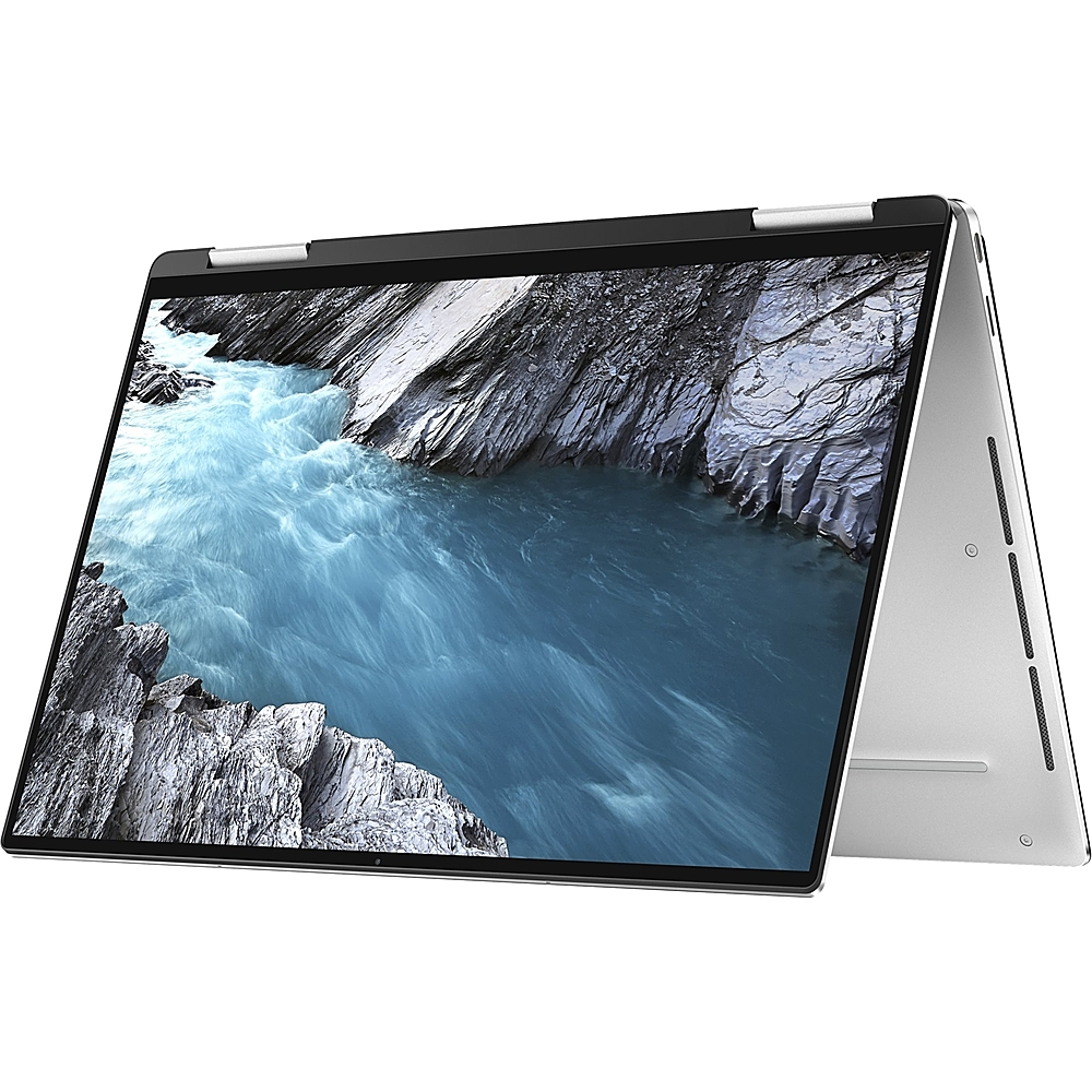 """Alt View Zoom 12. Dell - XPS 2-in-1 13.4"""" Touch-Screen Laptop - Intel Core i7 - 1TB SSD - Platinum Silver With Black Interior."""