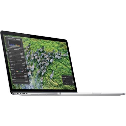 """Angle Standard. Apple - MacBook Pro® 13.3"""" Pre-owned Laptop - Intel Core i5 - 8GB Memory - 128GB Solid State Drive - Silver."""