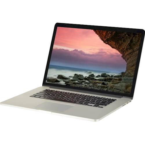 """Left Standard. Apple - MacBook Pro® 13.3"""" Pre-owned Laptop - Intel Core i5 - 8GB Memory - 128GB Solid State Drive - Silver."""