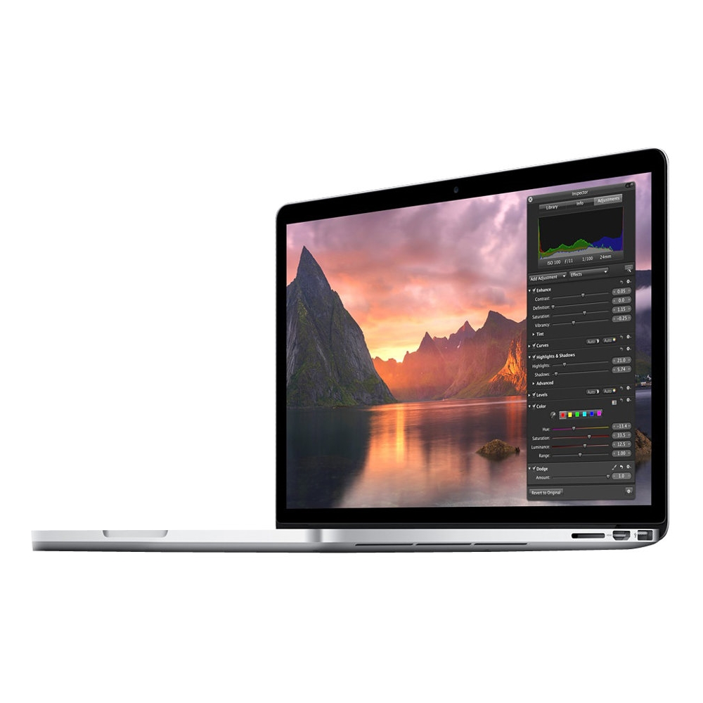 "Alt View Zoom 11. Apple - MacBook Pro 15.4"" Pre-owned Laptop - Intel Core i7 - 16GB Memory - 256GB Flash Storage - Silver."