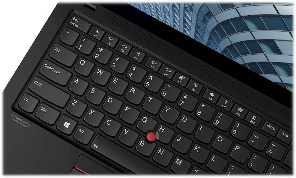 """Alt View Zoom 7. Lenovo - ThinkPad X1 Carbon 14"""" Touch-Screen Laptop - Intel Core i7 - 8GB Memory - 256GB Solid State Drive - Black."""