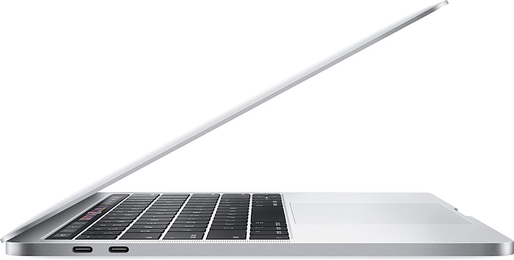"Alt View Zoom 7. Apple - MacBook Pro 13.3"" Refurbished Laptop - Intel Core i5 (I5-8257U) Processor - 8GB Memory - 128GB SSD (2019 Model) - Silver."