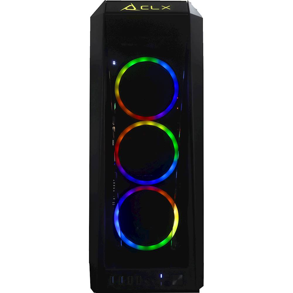 Alt View Zoom 11. CLX - SET Gaming Desktop- Intel Core i9-9900K - 16GB Memory - NVIDIA GeForce RTX 2080 - 3TB HDD + 960GB SSD - Black.
