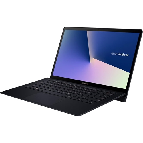 "Left Standard. ASUS - ZenBook S UX391FA 13.3"" 4K Ultra HD Touch-Screen Laptop - Intel Core i7 - 16GB Memory - 512GB SSD - Deep Dive Blue."
