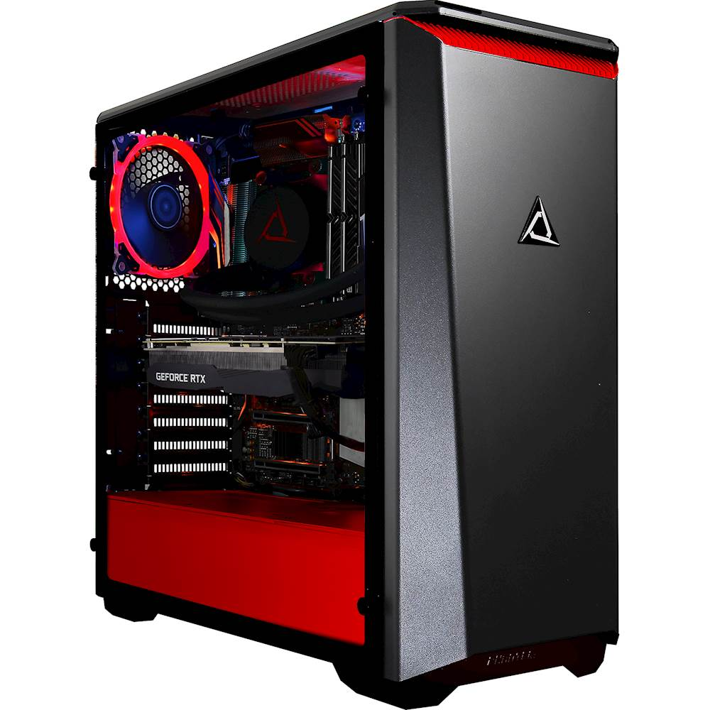 Front Zoom. CLX - SET Gaming Desktop- Intel Core i9-9900K - 16GB Memory - NVIDIA GeForce RTX 2080 - 3TB HDD + 960GB SSD - Black/Red.