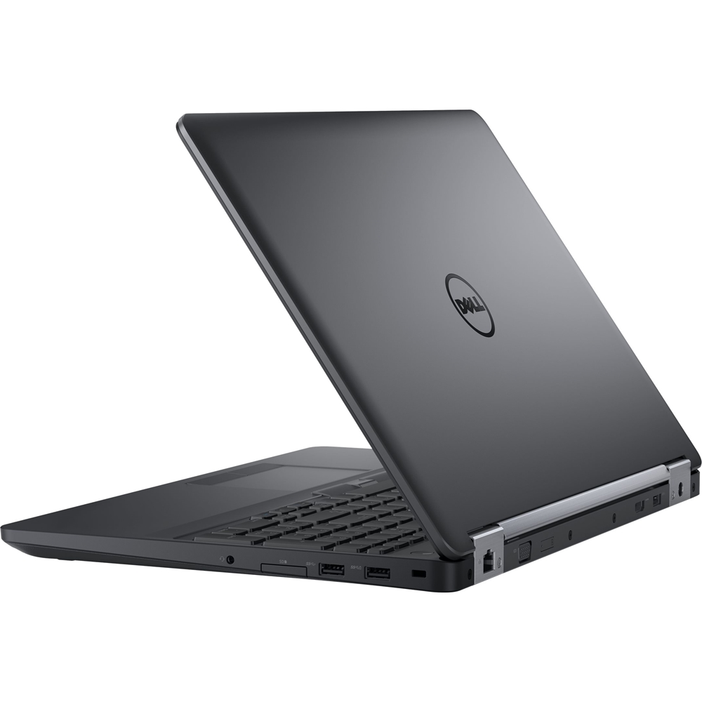 """Alt View Zoom 14. Dell - Latitude 15.6"""" Refurbished Laptop - Intel Core i5 - 8GB Memory - 256GB Solid State Drive - Black."""