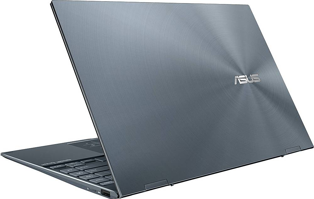 "Alt View Zoom 1. ASUS - ZenBook Flip 2-in-1 13.3"" Touch-Screen Laptop - Intel Core i5 - 8GB Memory - 512GB SSD - Pine Gray."