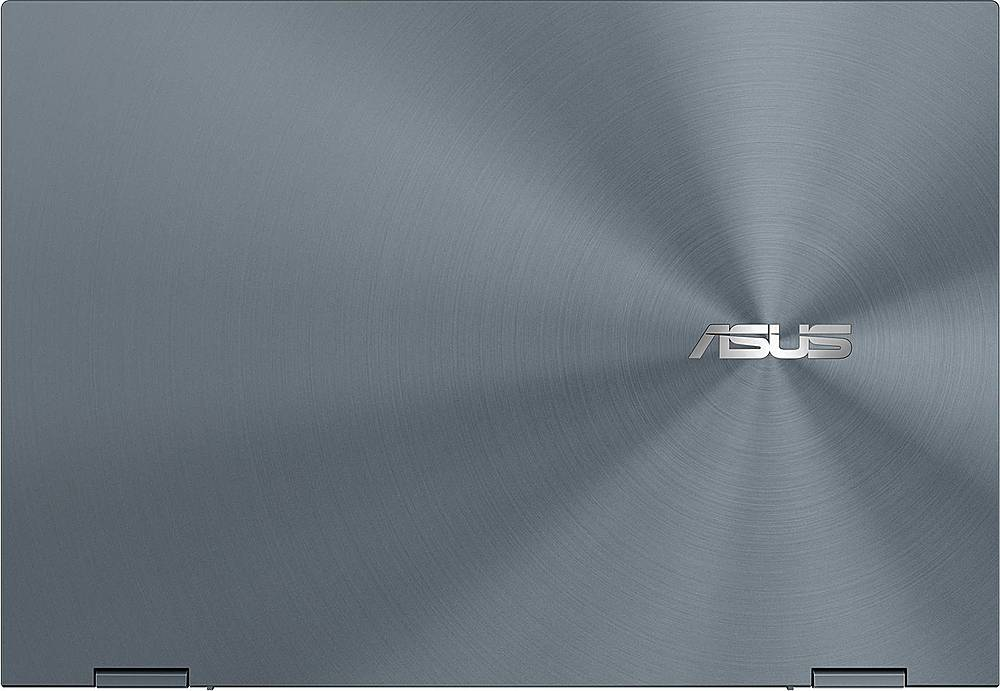 "Alt View Zoom 3. ASUS - ZenBook Flip 2-in-1 13.3"" Touch-Screen Laptop - Intel Core i5 - 8GB Memory - 512GB SSD - Pine Gray."