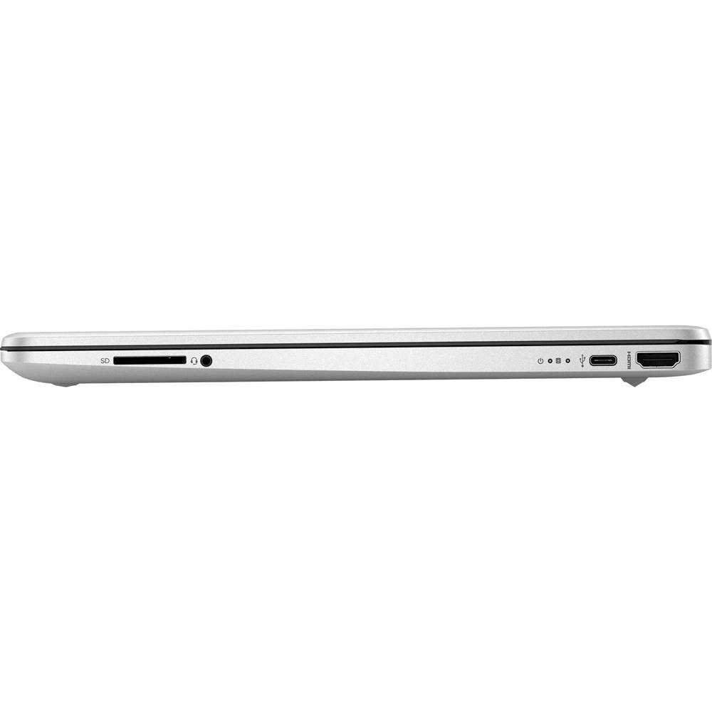 """Alt View Zoom 4. HP - 15.6"""" Touch-Screen Laptop - AMD Ryzen 3 - 8GB Memory - 256GB SSD - Vertical Brushed Pattern, Natural Silver."""