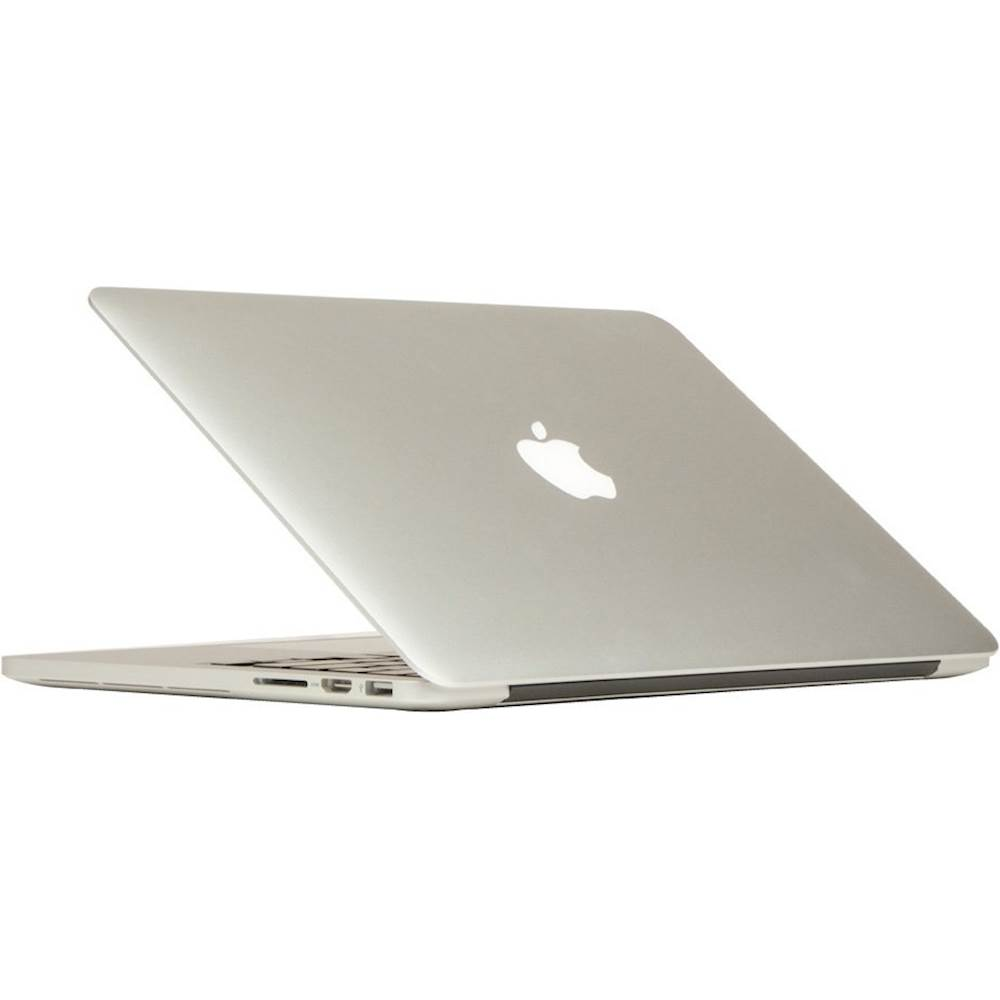 """Angle Zoom. Apple - MacBook Pro 13.3"""" Pre-Owned Laptop - Intel Core i5 - 4GB Memory - 128GB Flash Storage - Silver."""