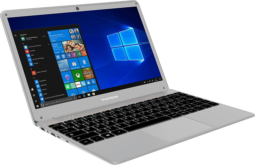 "Angle Zoom. Thomson - Neo 14.1"" Laptop - Intel Core i3 - 4GB Memory - 128GB SSD - Silver."