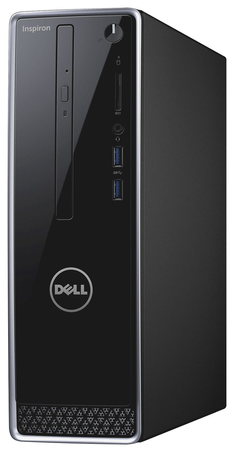 Alt View Standard 11. Dell - Inspiron Desktop - Intel Pentium - 8GB Memory - 1TB Hard Drive - Black.