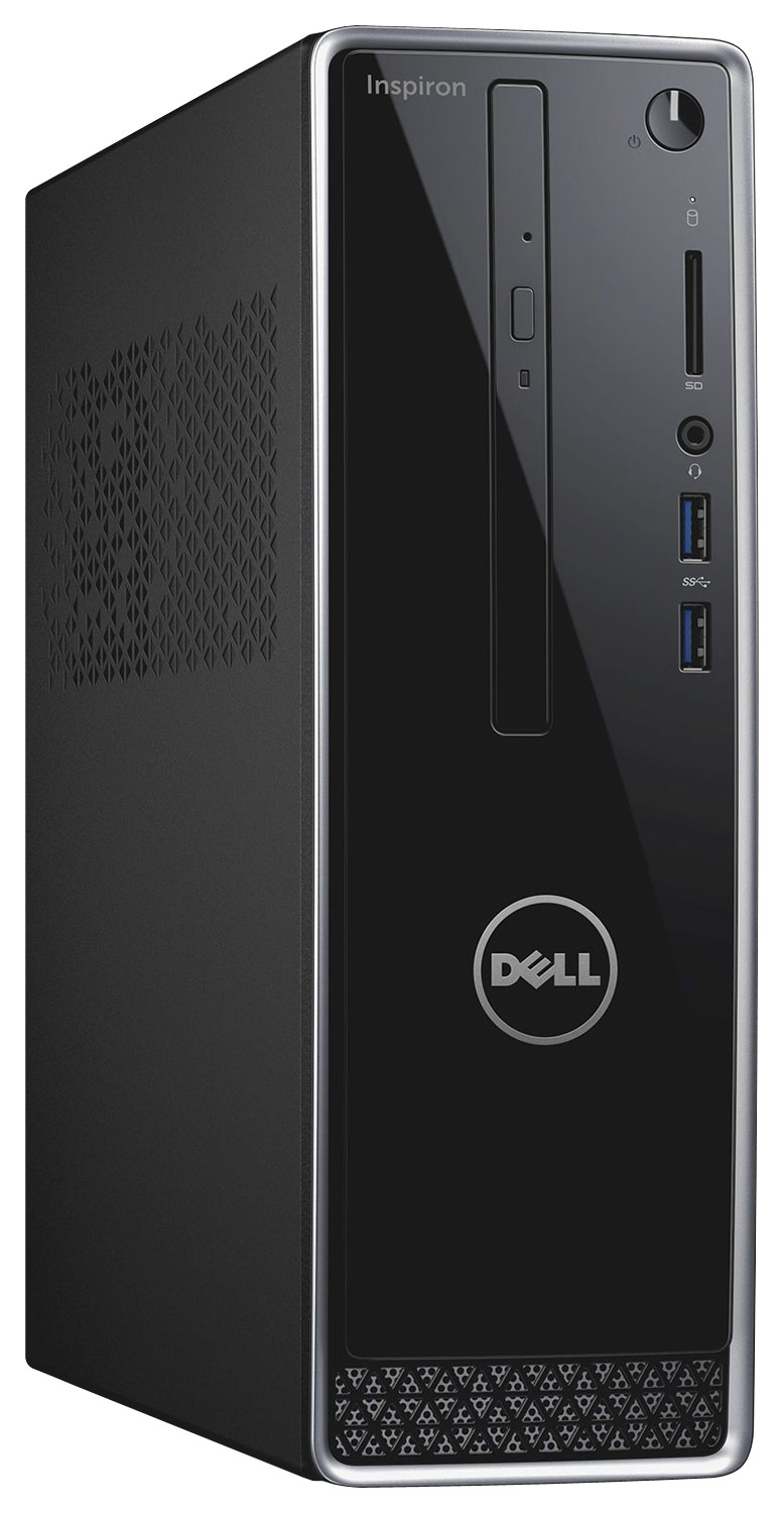 Alt View Standard 12. Dell - Inspiron Desktop - Intel Pentium - 8GB Memory - 1TB Hard Drive - Black.