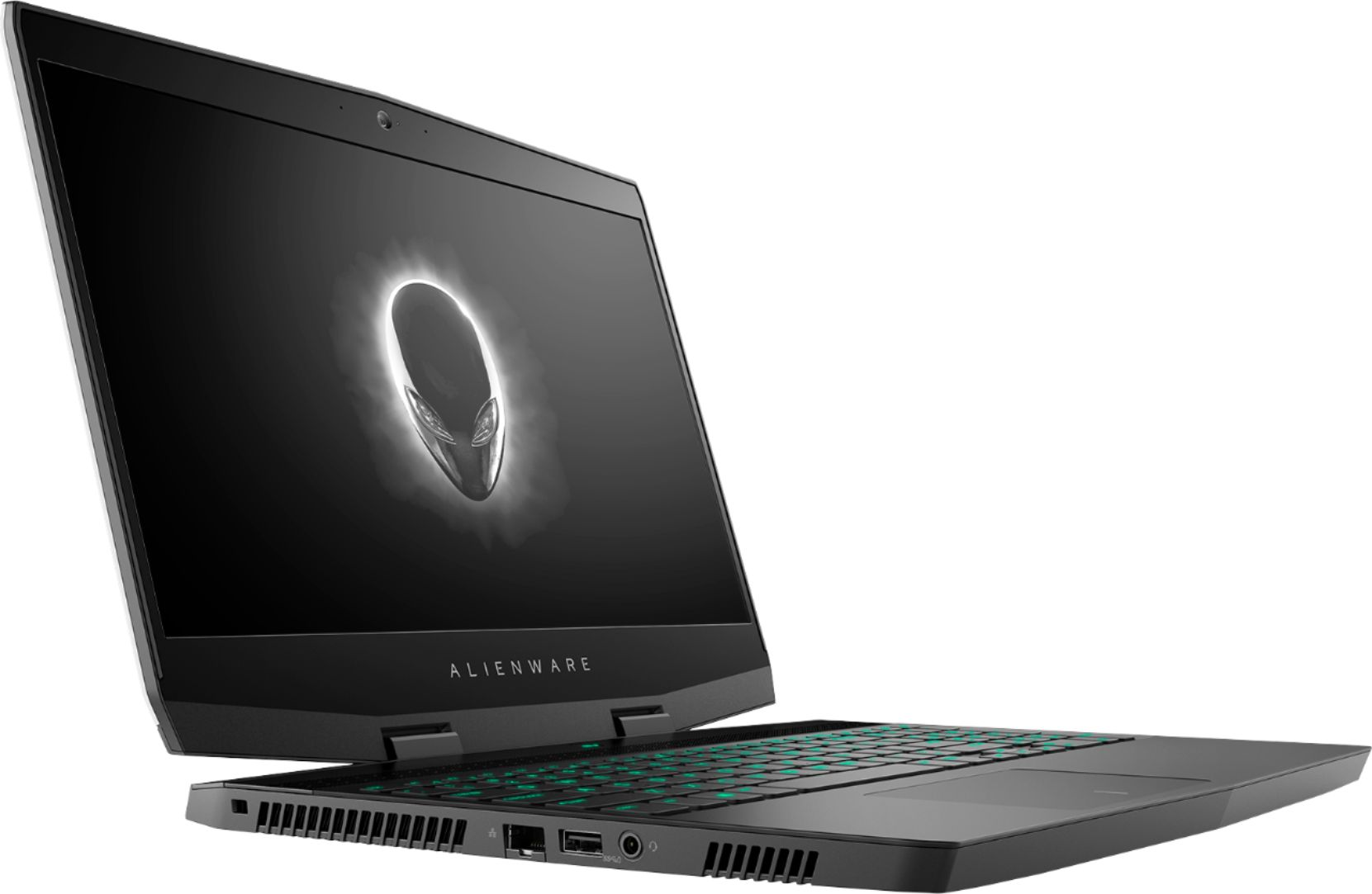 "Angle Zoom. Alienware - Geek Squad Certified Refurbished 15.6"" Laptop - Intel Core i7 - 16GB Memory - NVIDIA GeForce GTX 1060 - 1TB HD+128GB SSD - Silver."