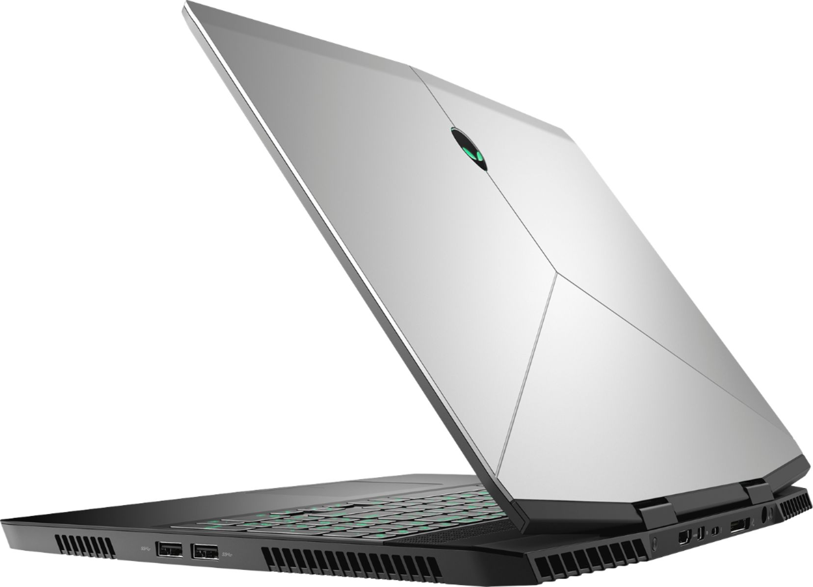 "Alt View Zoom 1. Alienware - Geek Squad Certified Refurbished 15.6"" Laptop - Intel Core i7 - 16GB Memory - NVIDIA GeForce GTX 1060 - 1TB HD+128GB SSD - Silver."