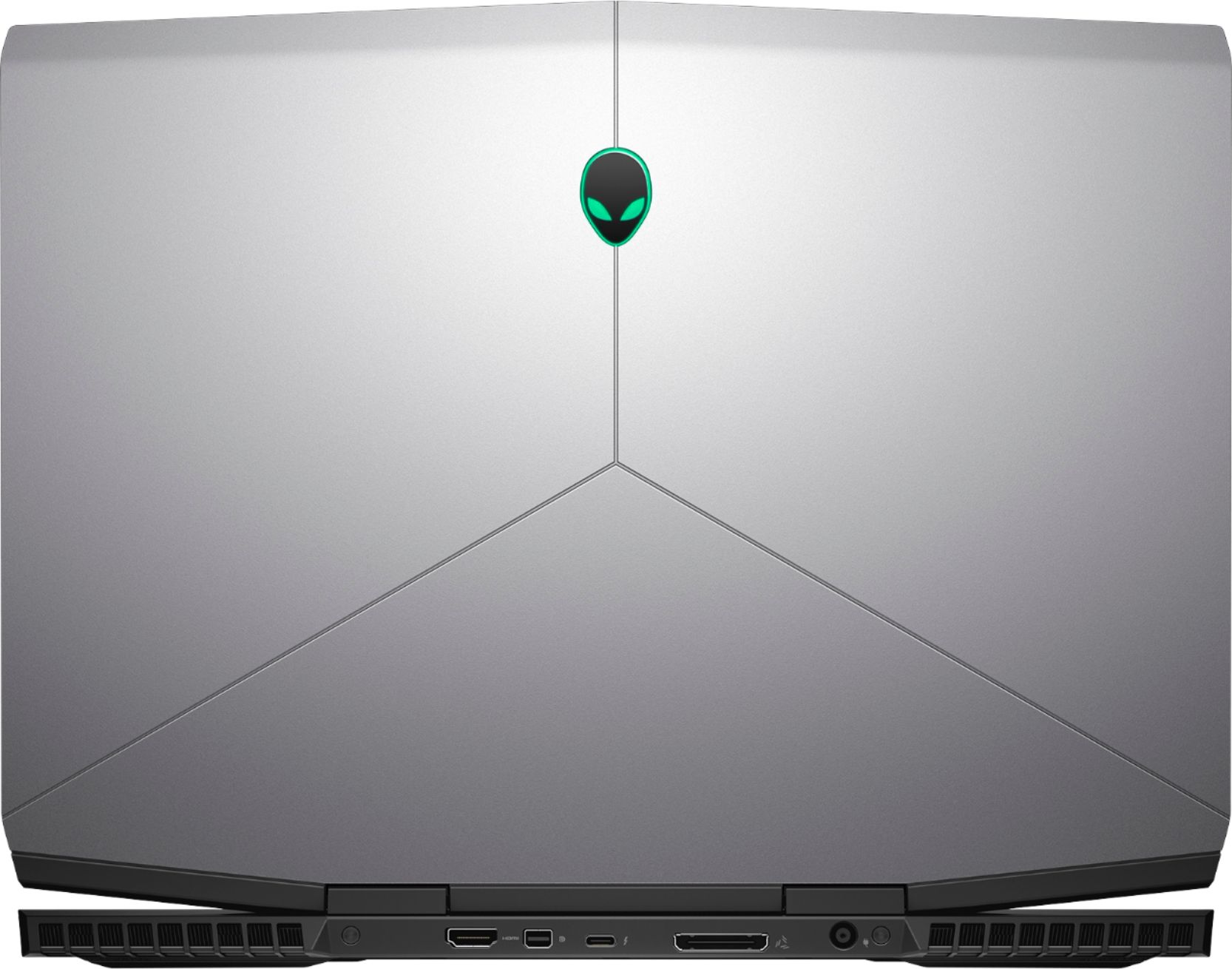 "Alt View Zoom 3. Alienware - Geek Squad Certified Refurbished 15.6"" Laptop - Intel Core i7 - 16GB Memory - NVIDIA GeForce GTX 1060 - 1TB HD+128GB SSD - Silver."