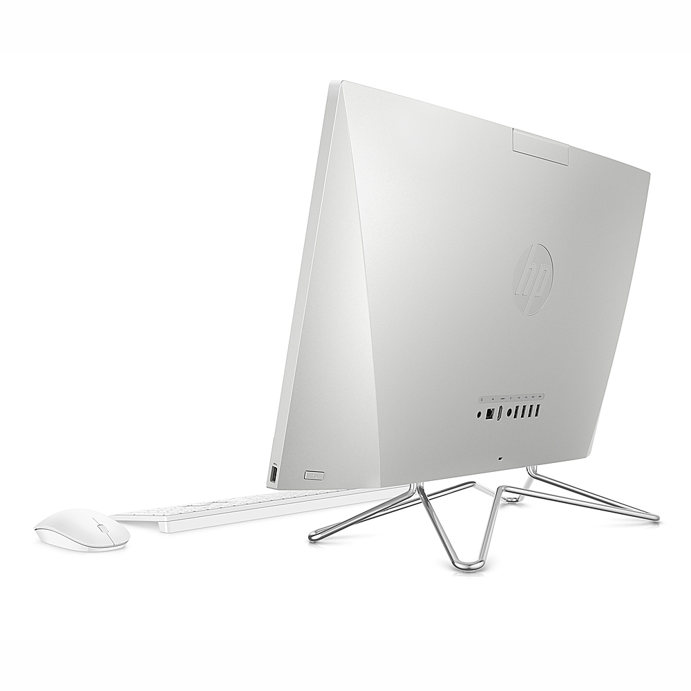 """Back Zoom. HP - 23.8"""" Touch-Screen All -In-One - Intel Core i7-1065G7 - 16GB, 512GB SSD."""
