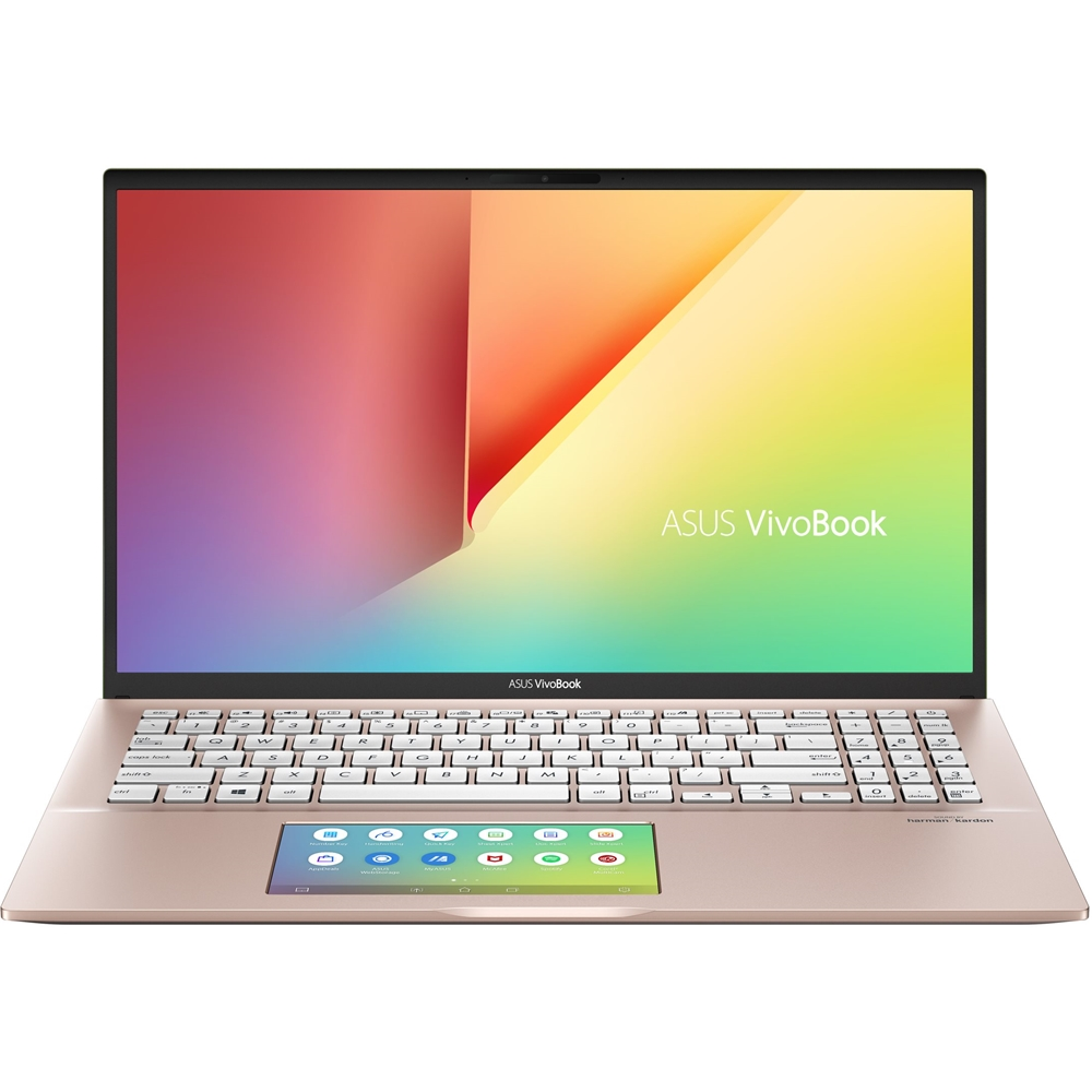 "Front Zoom. ASUS - VivoBook S15 15.6"" Laptop - Intel Core i5 - 8GB Memory - 512GB SSD - Punk Pink."