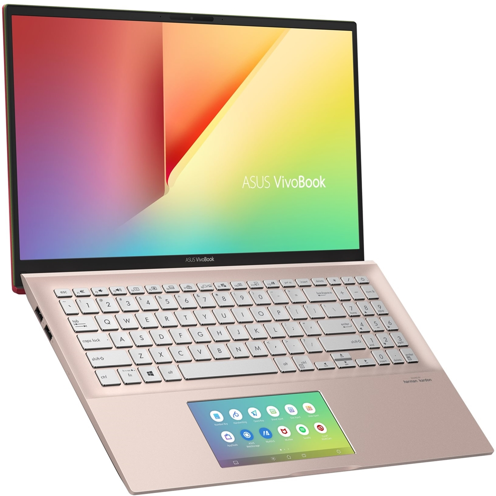 "Left Zoom. ASUS - VivoBook S15 15.6"" Laptop - Intel Core i5 - 8GB Memory - 512GB SSD - Punk Pink."