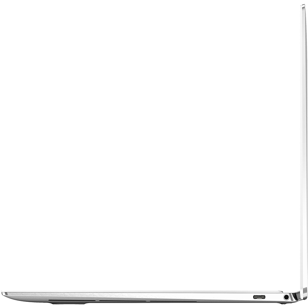 "Angle Zoom. Dell - XPS 2-in-1 13.4"" Touch-Screen Laptop - Intel Core i7 - 16GB Memory - 256GB SSD - Platinum Silver With Arctic White Interior."