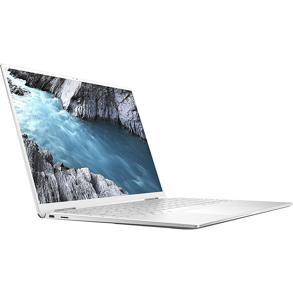 "Left Zoom. Dell - XPS 2-in-1 13.4"" Touch-Screen Laptop - Intel Core i7 - 16GB Memory - 256GB SSD - Platinum Silver With Arctic White Interior."