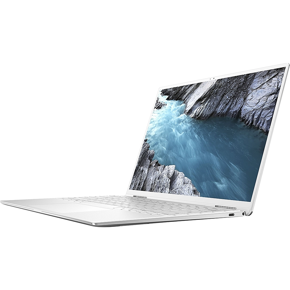 "Alt View Zoom 11. Dell - XPS 2-in-1 13.4"" Touch-Screen Laptop - Intel Core i7 - 16GB Memory - 256GB SSD - Platinum Silver With Arctic White Interior."