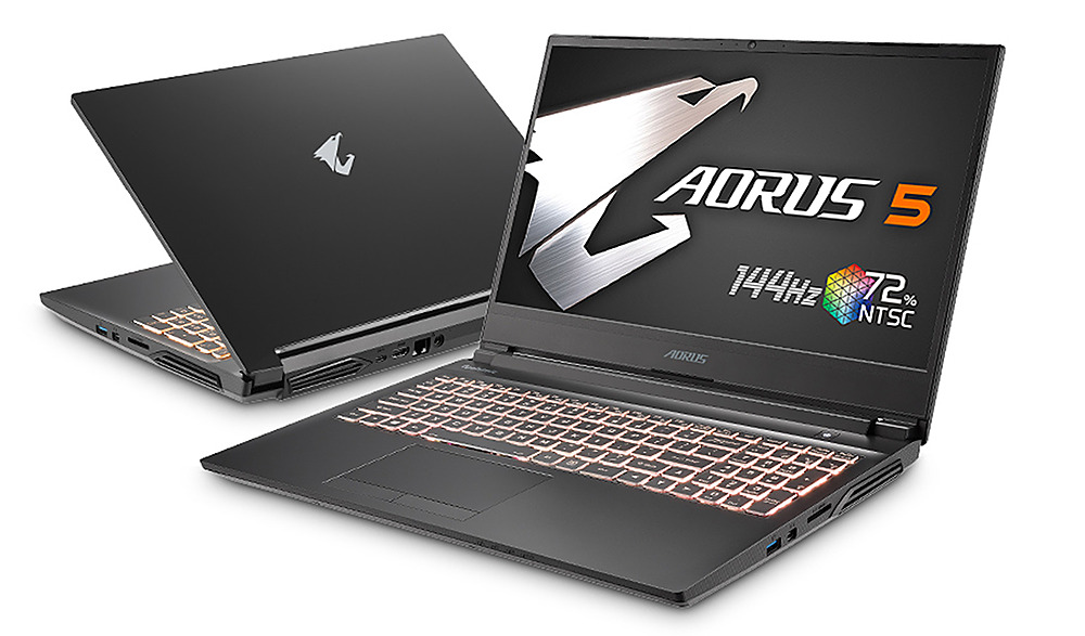 "Angle Zoom. Gigabyte -  15.6"" FHD Gaming Laptop - Intel Core i7 -  16GB - NVIDIA GeForce 1660 Ti -  512GB SSD - Black."