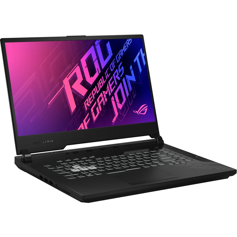 "Left Zoom. ASUS - ROG Strix G15 15.6"" Laptop - Intel Core i7 - 16GB Memory - NVIDIA GeForce RTX 2060 - 512GB SSD - Original Black."