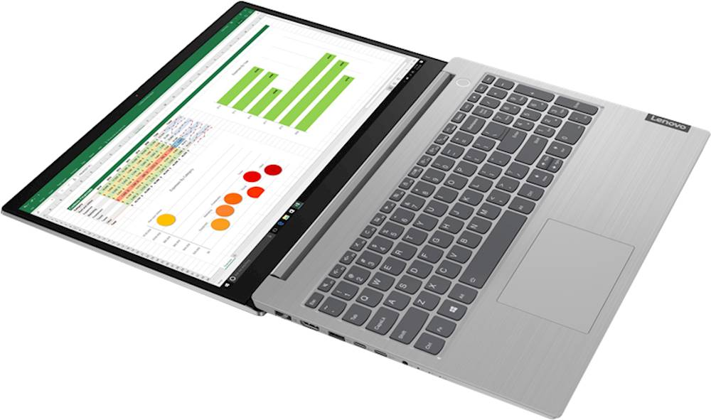 """Alt View Zoom 11. Lenovo - ThinkBook 15 IIL 15.6"""" Laptop - Intel Core i5 - 8GB Memory - 256GB Solid State Drive - Mineral Gray."""