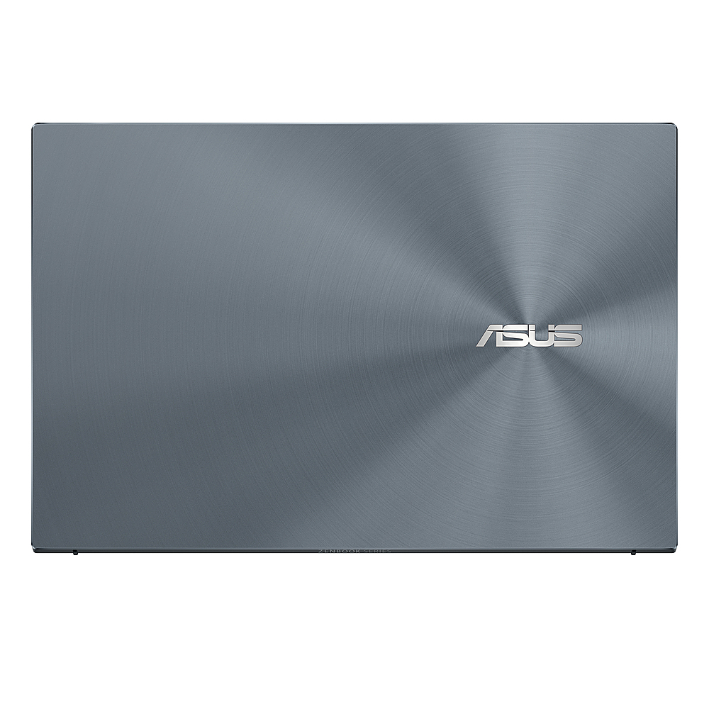 "Alt View Zoom 1. ASUS - ZenBook - 13.3"" Ultra-Slim Laptop - Intel Core i7-1065G7- 8GB 512GB - Win 10 in Pine Grey - Pine Grey."