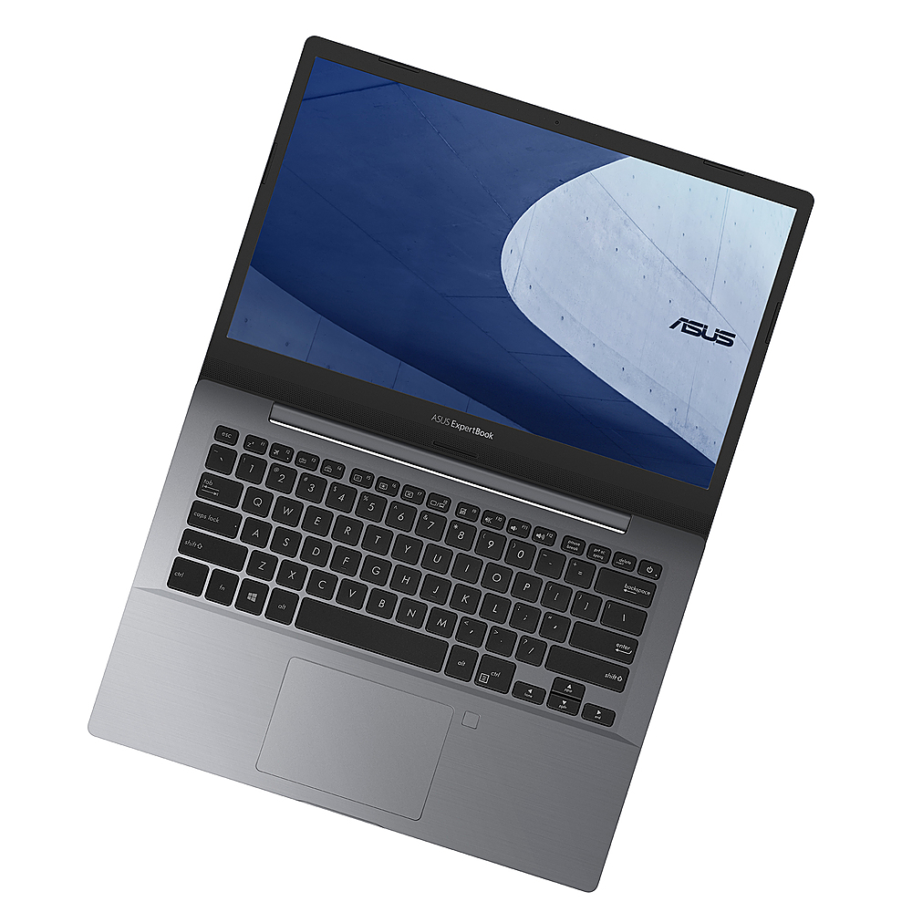 "Angle Zoom. Asus - ExpertBook 14""Laptop i5-8265U 8GB 512GB + TPM - Slab Gray."
