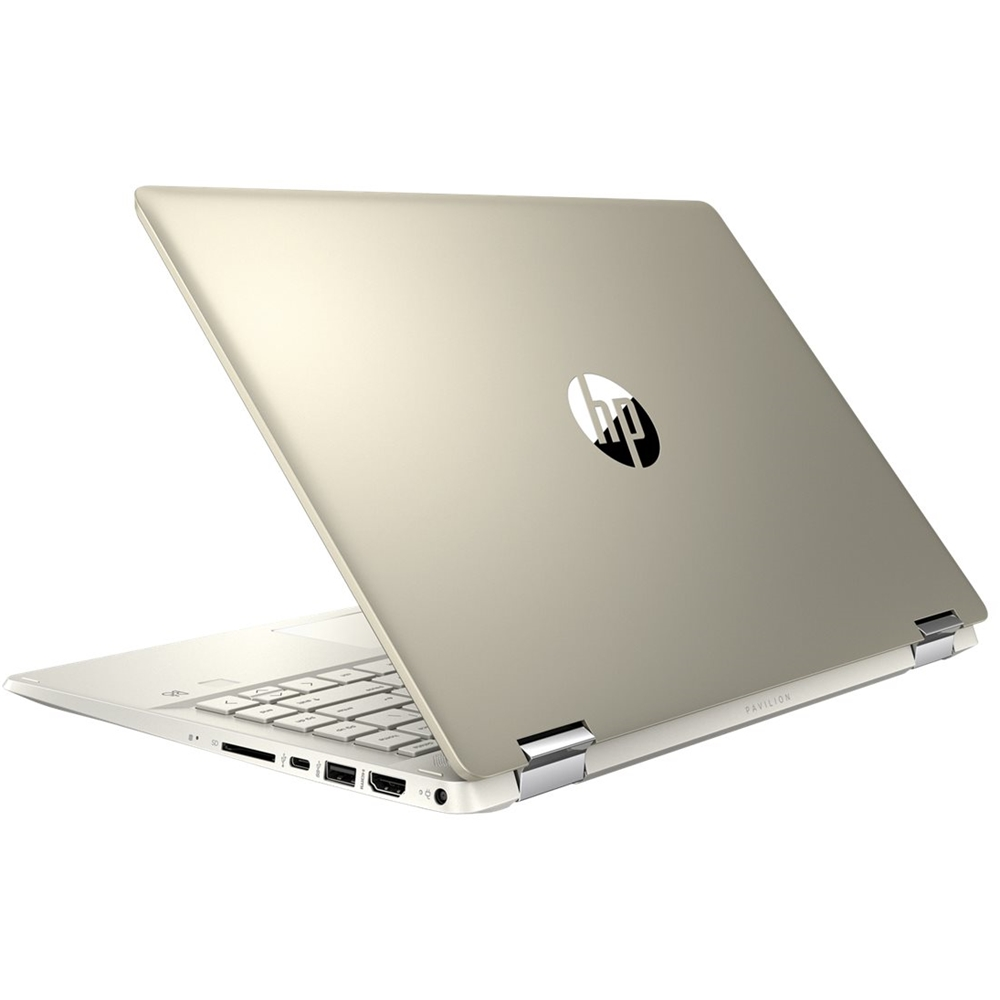 """Alt View Zoom 12. HP - Pavilion x360 2-in-1 14"""" Touch-Screen Laptop - Intel Core i5 - 8GB Memory - 256GB SSD - Sandblasted Anodized Finish, Luminous Gold."""