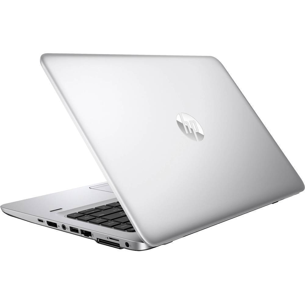 "Alt View Zoom 1. HP - EliteBook 14"" Refurbished Laptop - Intel Core i5 - 8GB Memory - 180GB Solid State Drive - Silver."