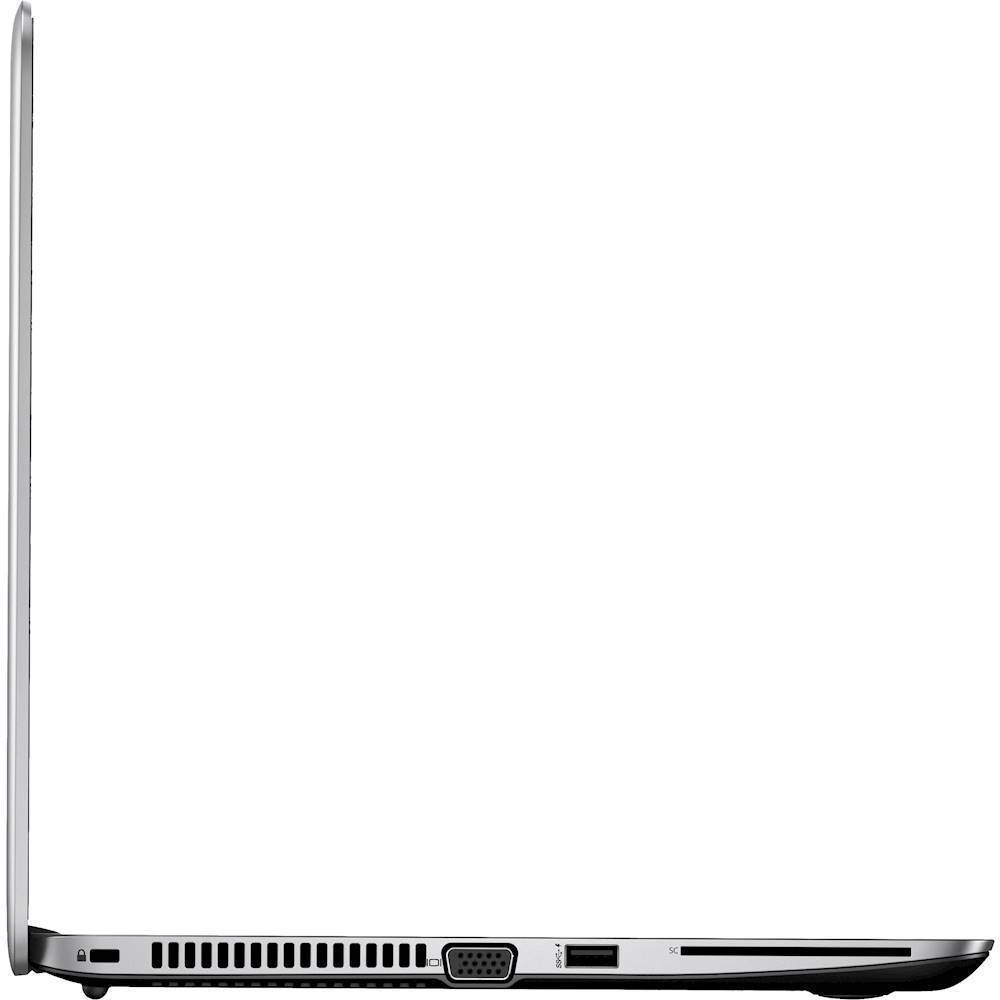 "Alt View Zoom 10. HP - EliteBook 14"" Refurbished Laptop - Intel Core i5 - 8GB Memory - 180GB Solid State Drive - Silver."