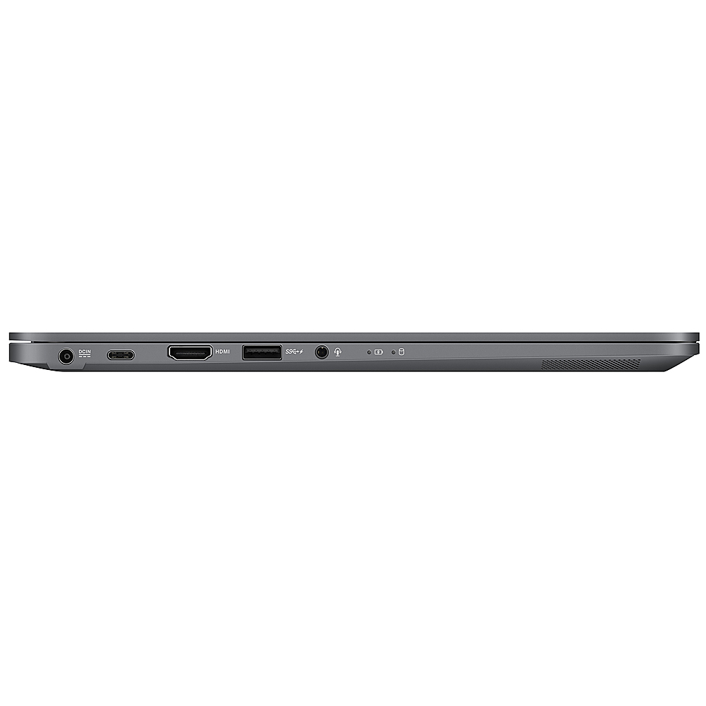 "Left Zoom. ASUS - ExpertBook 14 ""Laptop i5-8265U 8GB 256GB  + TPM - Slab Gray."