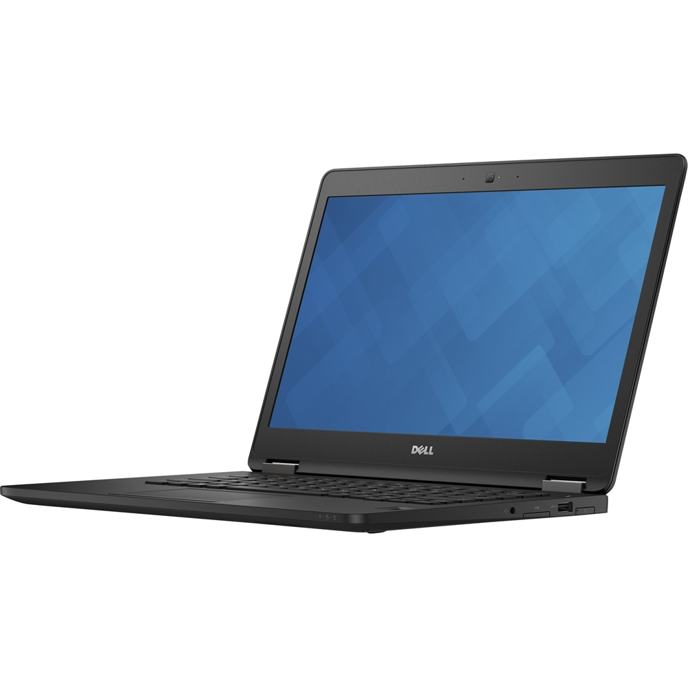 """Alt View Zoom 11. Dell - Latitude 14"""" Refurbished Laptop - Intel Core i7 - 8GB Memory - 512GB Solid State Drive - Black."""